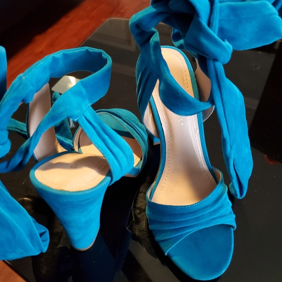Shoes - Turqouise Sandals